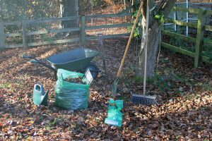 Tools for leaf composting