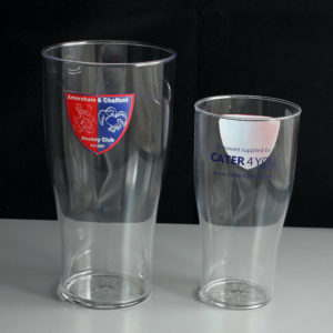 ACHC Branded Pint Half Pint Glasses