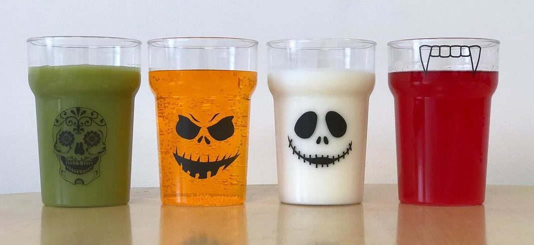 Halloween Plastic Glasses Competition