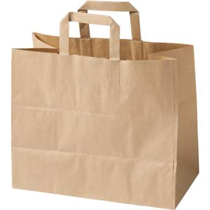 Take Away Paper Handled Bags