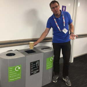 Disposable cups not recycled at Brighton centre