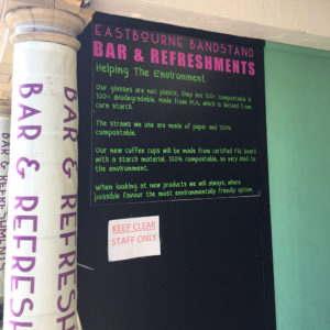 Eastbourne Bandstand PLA Cups