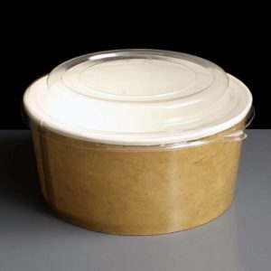 Round Take Away Kraft Containers