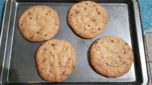 Cookies Cooked in 12 Minutes