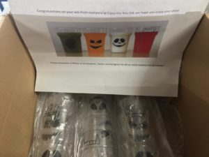 Halloween Plastic Glasses