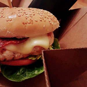 Premium Cardboard Delivery Burger Box
