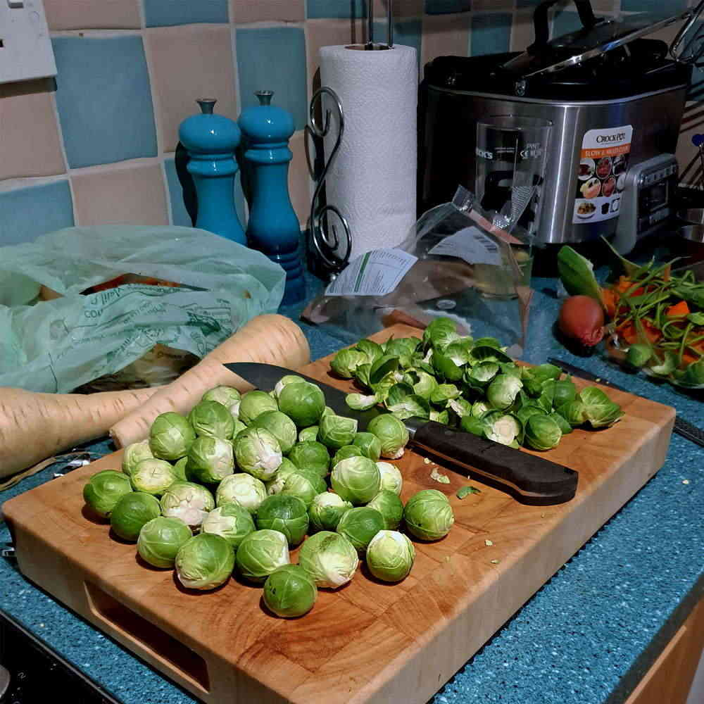 Sprouts being Prepared