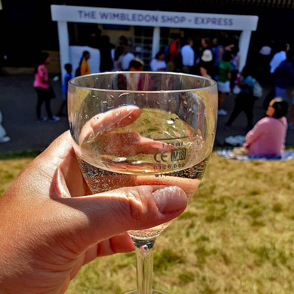Wimbledon Plastic Wine Glasses