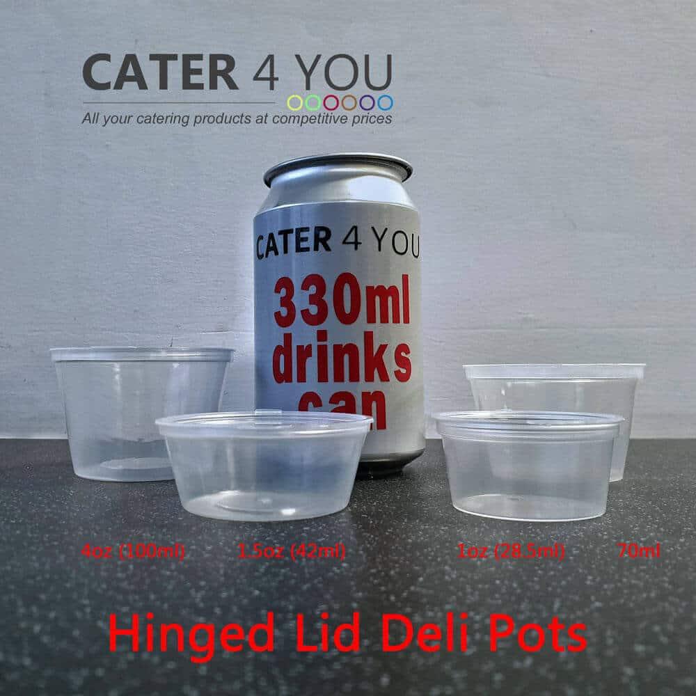 Can and Deli Pot Comparison